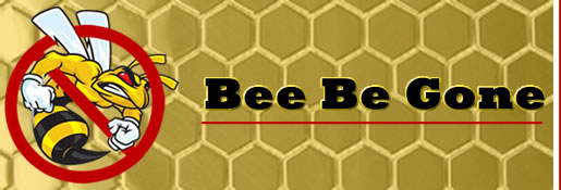 Bee Be Gone logo